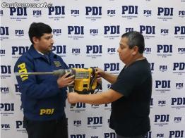 PDI cauquenes recupero herramientas robadas 060718 01-cqcl
