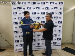 PDI cauquenes recupero herramientas robadas 060718 03-cqcl