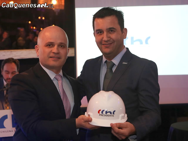 Cchc Ricardo Chamorro y Paolo Carrera, presidente CChC Talca 01-cqcl