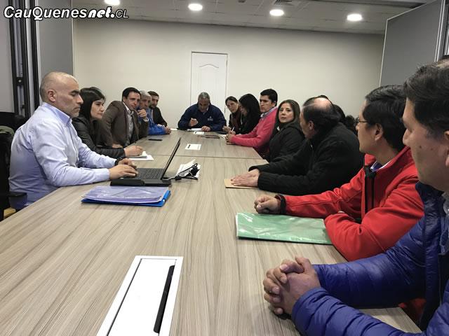 Dirigentes de cajonera se reunen con autoridades regionales 01-cqcl