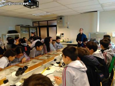 Escolares cauquenes en laboratorio Utalca 01-cqcl
