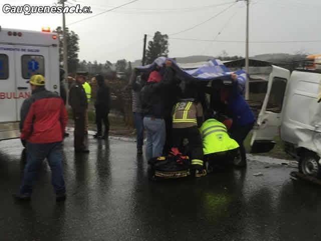 Se dobló el número de lesionados y aumentaron en cerca de 38% los accidentes en el Maule durante estas fiestas patrias