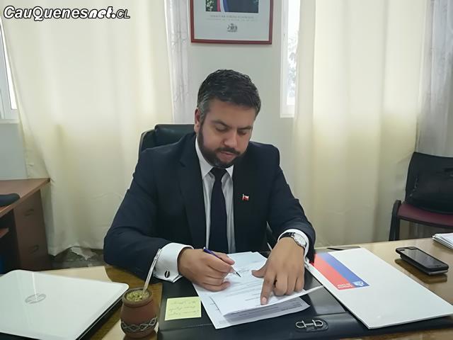 Francisco Jose Ruiz gobernador provincia de cauquenes 01-cqcl