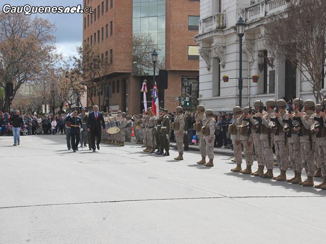 Intendente Milad participó de tradicional Te Deum y Desfile por Fiestas Patrias en Talca