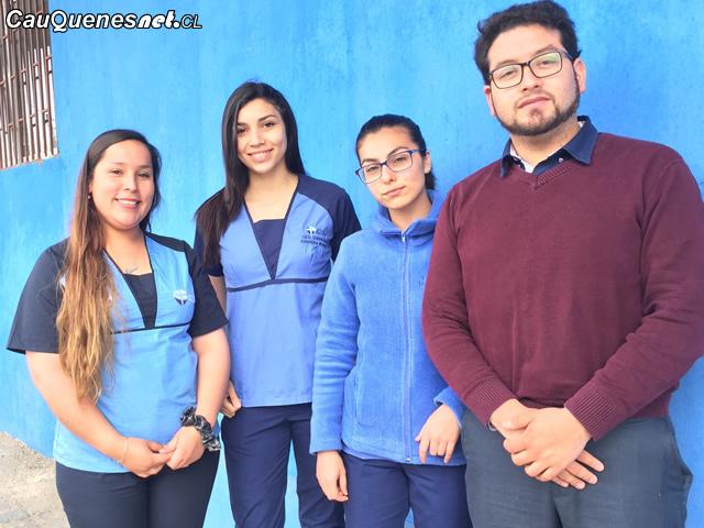 Estudiantes de técnico en odontología del CFT San Agustín de Cauquenes ganaron beca de actualización