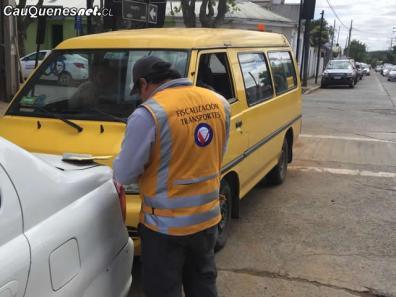 Fiscalizan furgon escolar en cauquenes 02-cqcl