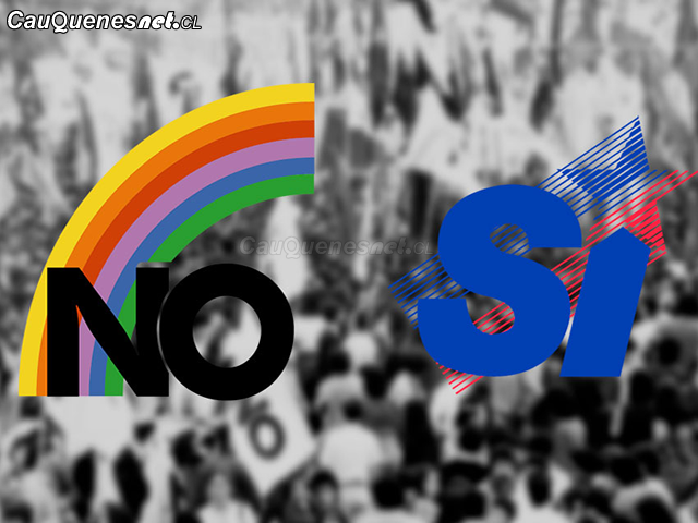 plebiscito Chile 1988 SI NO 01-cqcl
