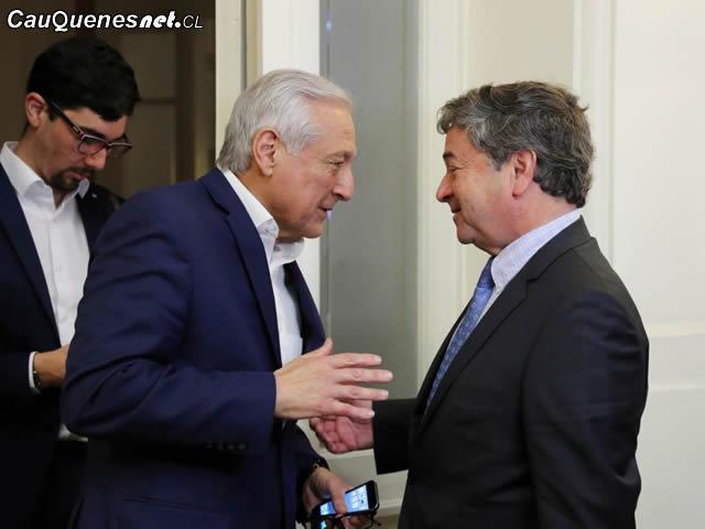 Senador Coloma y Heraldo Muñoz por La Haya 011018 01-cqcl