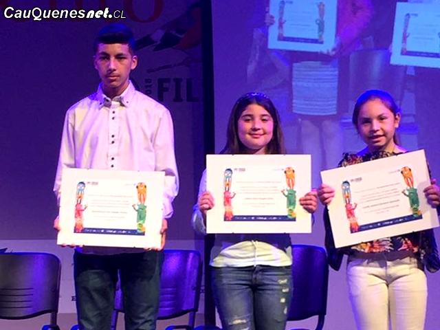 ONUy Unicef premian a estudiantes de Escuela Blanco Encalada de Cauquenes en concurso de cuentos