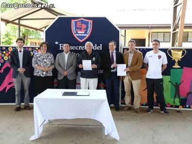Escuela de Porongo convenio deportivo 2018 01-cqcl