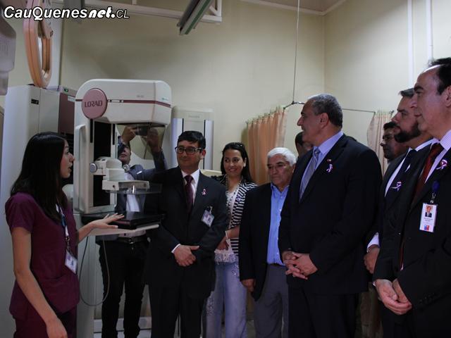 Autoridades regionales dan el vamos a operativo de mamografías en la Provincia de Cauquenes