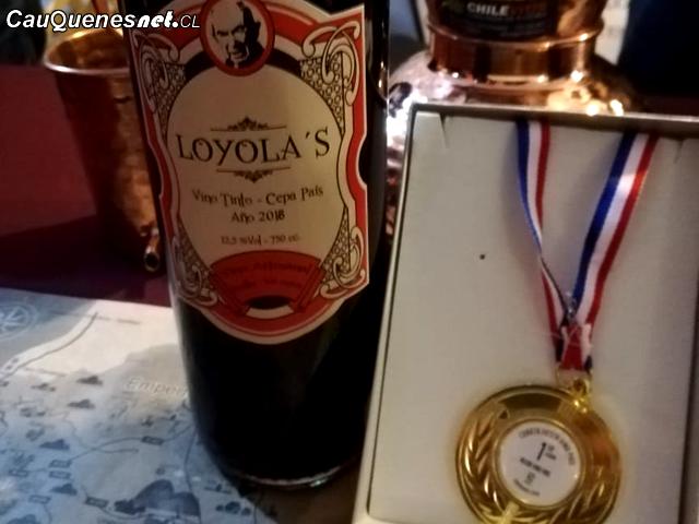 Vino Loyolas mejor Cepa Pais Fiesta Vino Pais Cauquenes 2018 02-cqcl