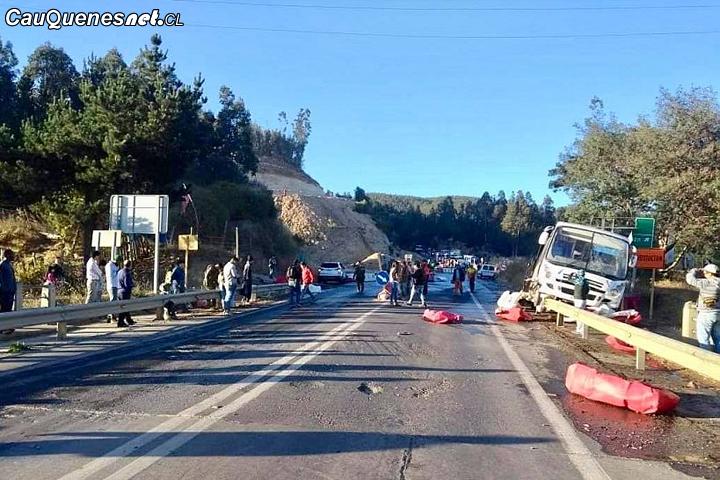 Impactante accidente en Ruta Constitución – Chanco deja 13 heridos