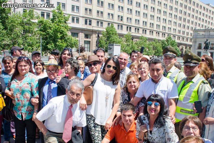 Más de 80 vecinos de Cauquenes vivieron gira cívica en el Congreso Nacional