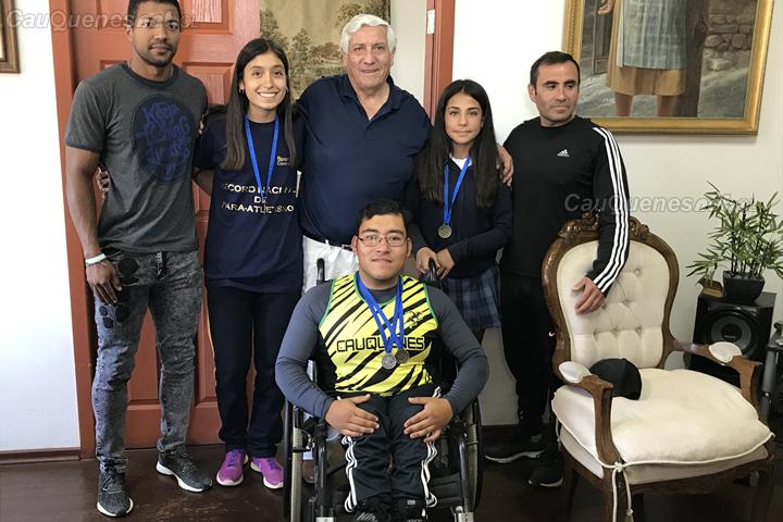 Alumnos de Cauquenes lograron medallas en nacional de atletismo