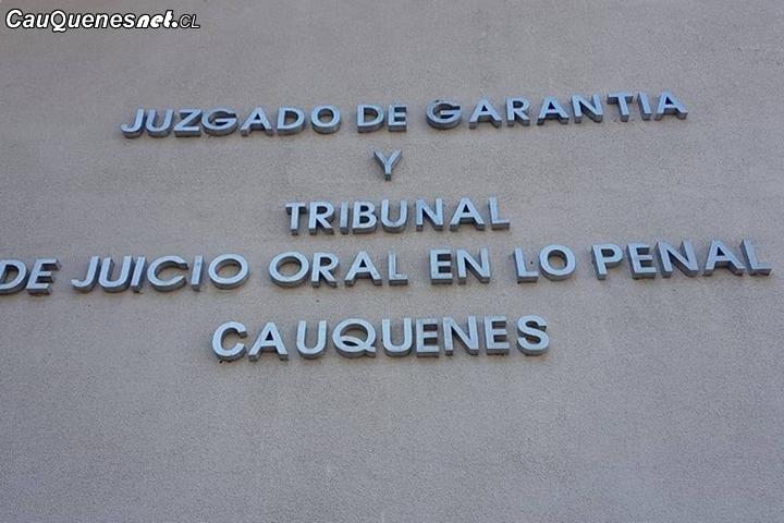 En #Cauquenes autor de robo con violencia y porte ilegal de arma de fuego recibió condenas de presidio por 5 y 3 años y un día