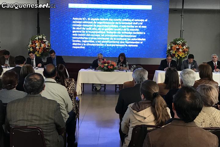 Municipalidad de Cauquenes entregó cuenta pública correspondiente al periodo 2018