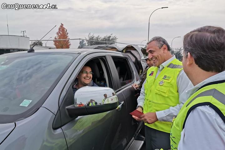 Autoridades refuerzan fiscalización de transportes en el Maule