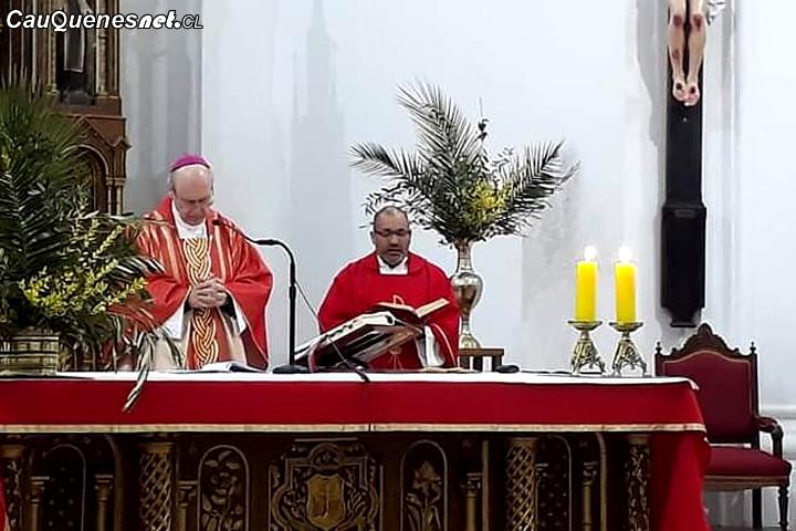 Iglesia San Alfonso de Cauquenes tiene nuevo párroco