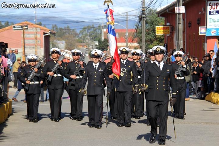 Gobernador de Cauquenes presidió ceremonias por Glorias Navales en la provincia