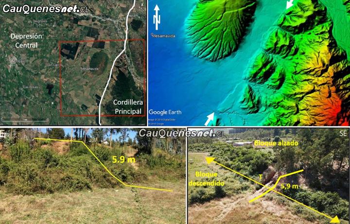 El Maule tendría un falla geológica similar a la de San Ramón en Santiago
