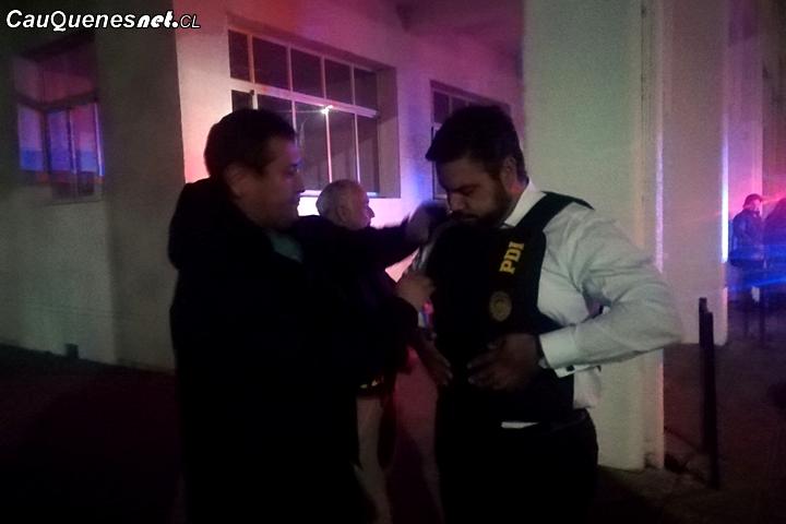 PDI y Carabineros junto al Gobernador de Cauquenes fiscalizaron locales nocturnos de la ciudad