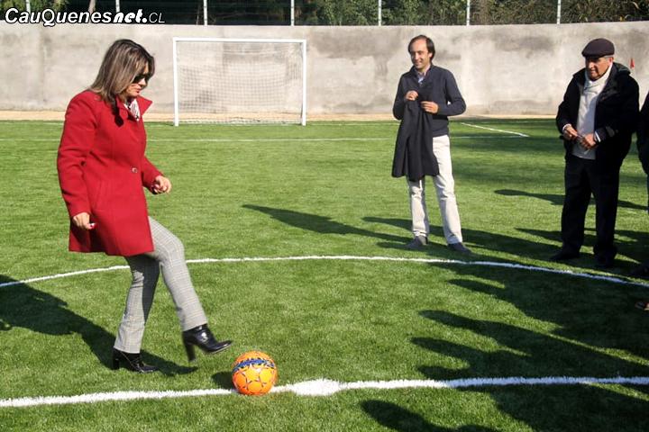 Chanco tiene nueva Cancha de Futbolito