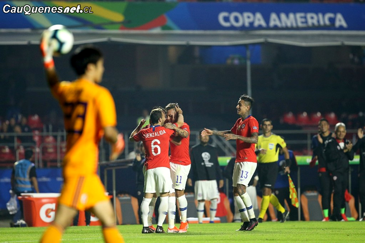 Chile debutó con goleada en #CopaAmérica 2019