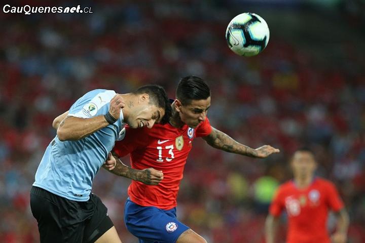 #CopaAmérica: Chile cae ante Uruguay y se enfrenta a Colombia en cuartos de final