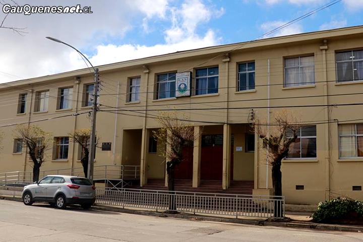 Cauquenes: Este lunes vuelven las clases al Liceo Antonio Varas