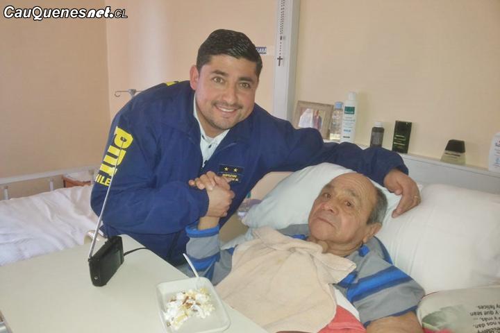 PDI de Cauquenes visitó Hogar de Ancianos