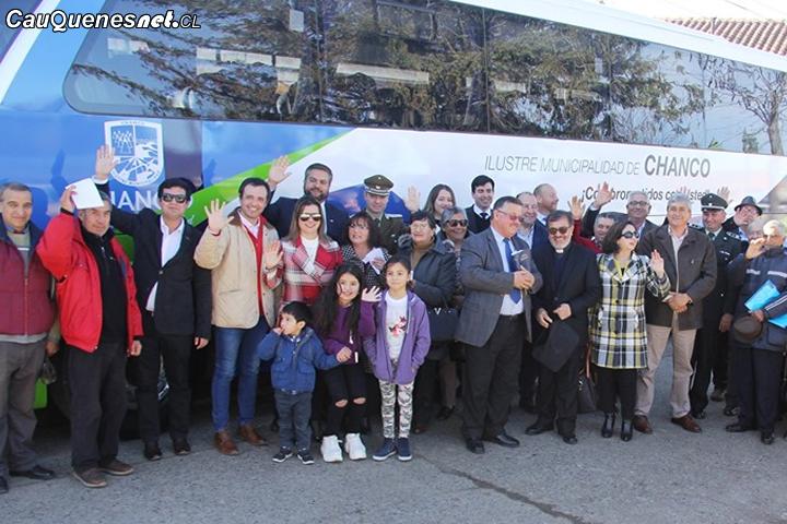 #Chanco tiene nuevo bus municipal