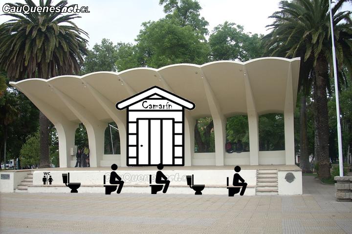 Construirían camarines y baños en la Plaza de Armas de Cauquenes
