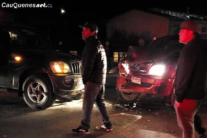 Cauquenes: Accidente se registró en pasarela de Villa Esperanza