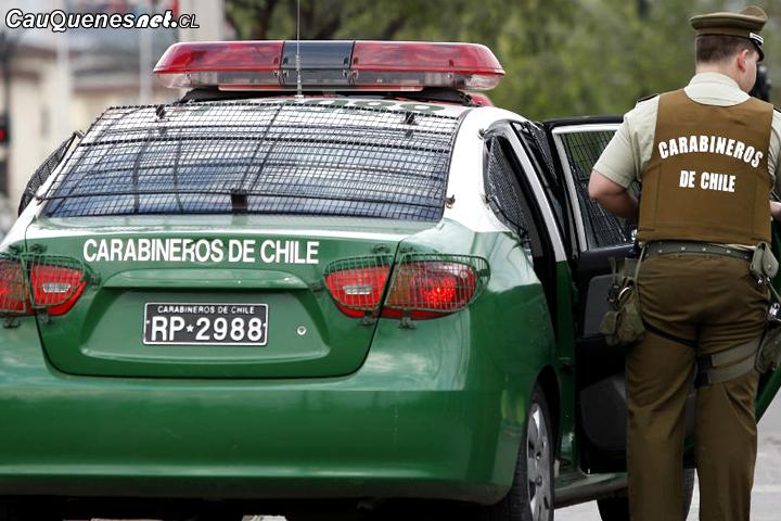 En #Cauquenes son detenidos dos hombres y una mujer por robar en domicilio