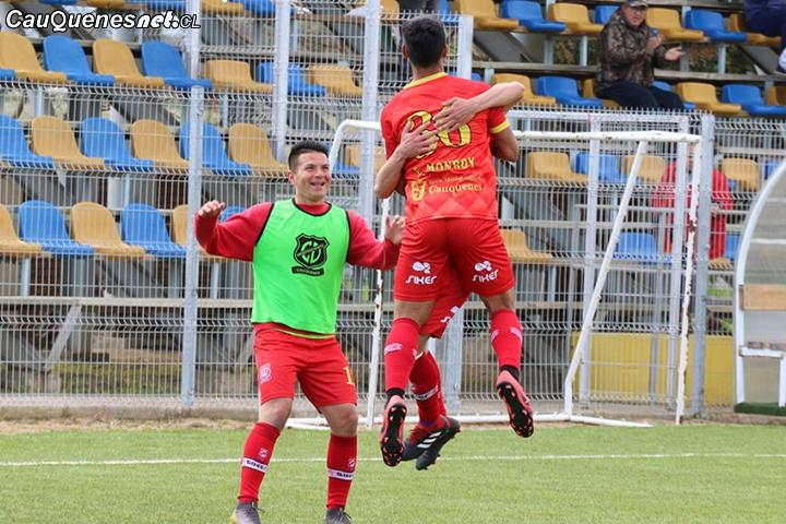 Independiente de Cauquenes derrota al SAU y lo alcanza en la tabla