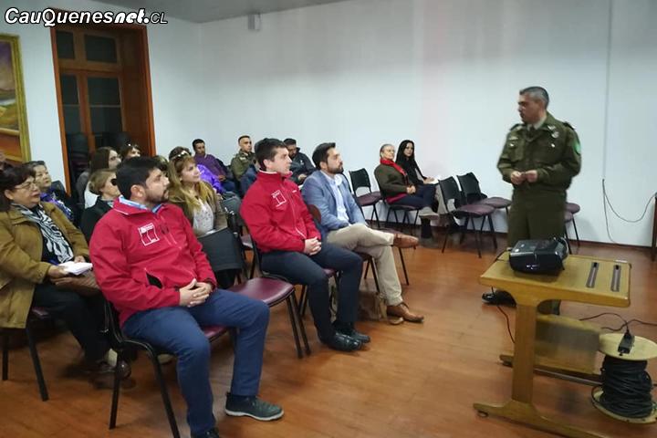Dirigentes sociales de Cauquenes destacan primera sesión STOP vecinal