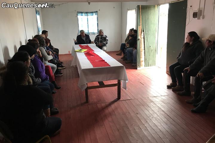 Vecinos de Villas las Delicias se reunieron con el alcalde para solicitar iniciativas al sector