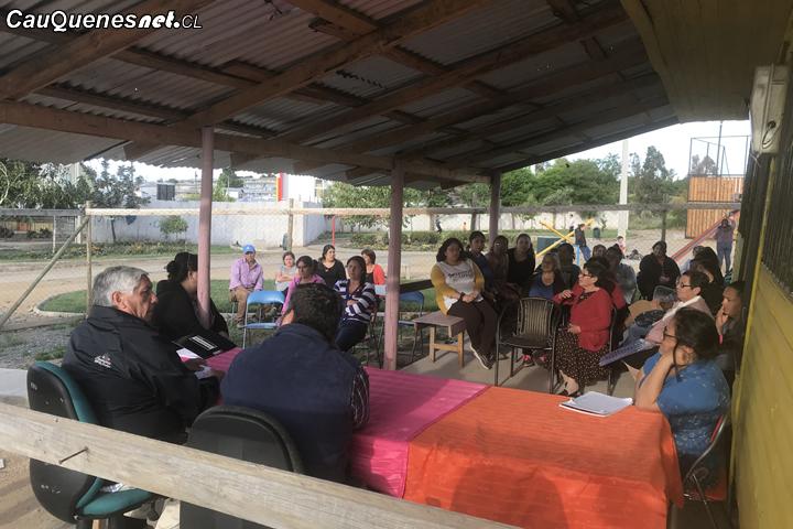 Cauquenes: Anuncián remodelación de sede social de Pobl. Los Libertadores