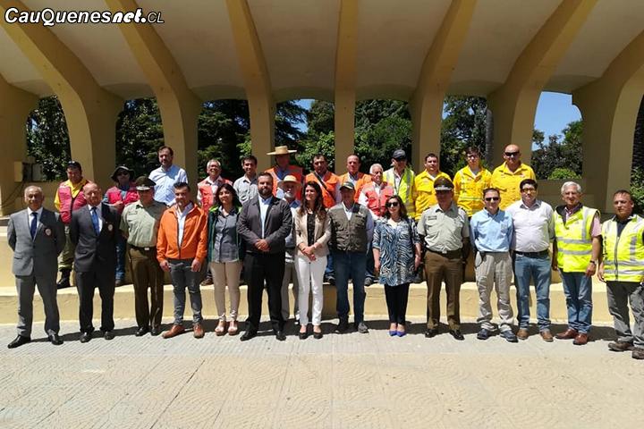 En Cauquenes se realiza con éxito segunda expo en prevención de incendios forestales