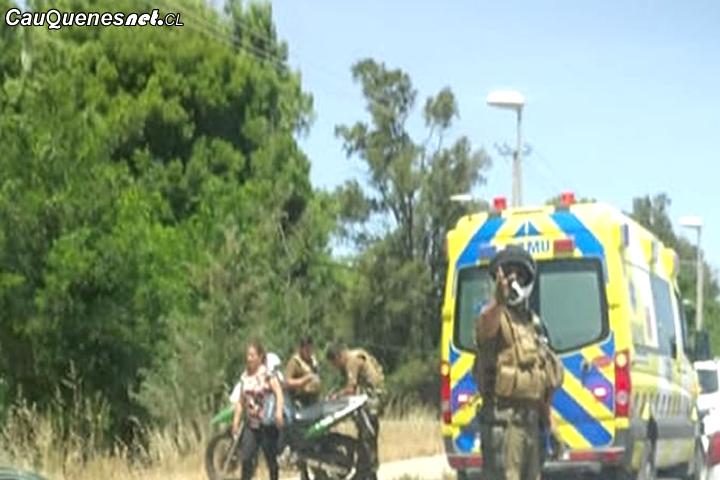 Cauquenes: Carabinero que escolataba imagen de Virgen de Fátima se accidentó