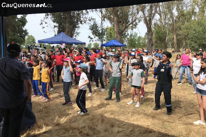 Rotary Club de Cauquenes celebró la tradicional semana del niño