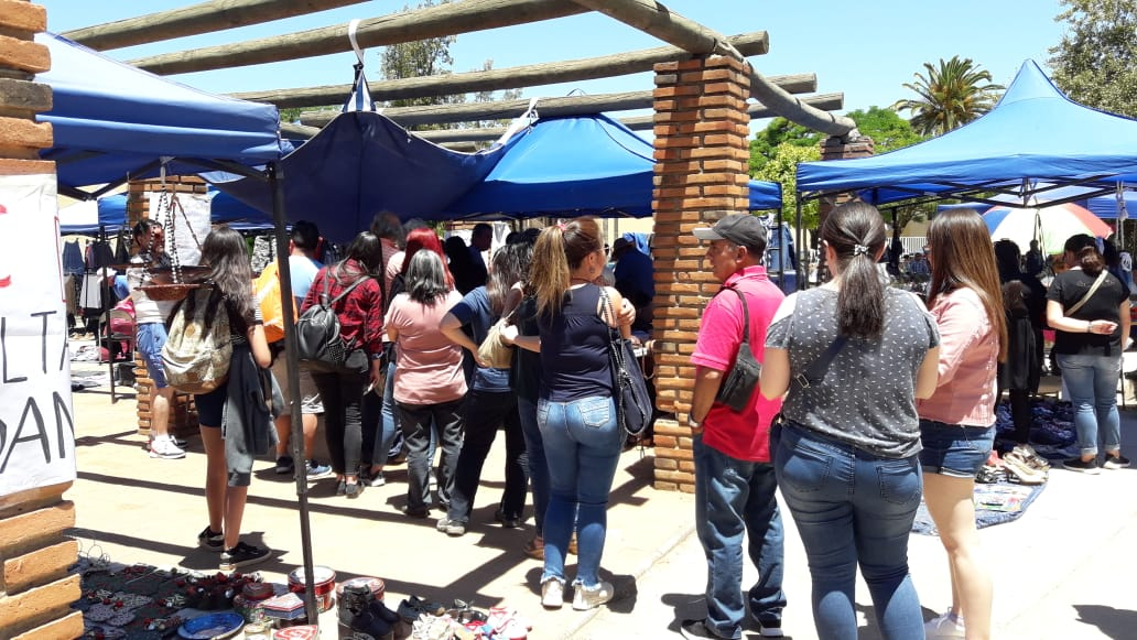 #Cauquenes: Ciudadanos han hecho fila en Plaza Prat para poder votar en Consulta Ciudadana