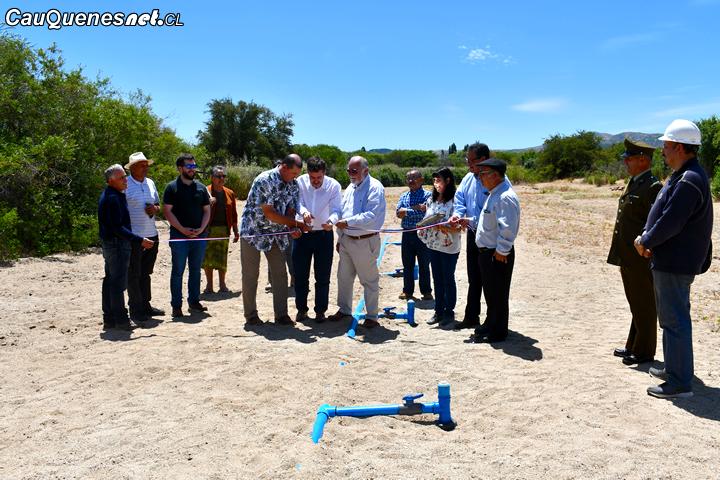 Cauquenes: La polémica agrícola Coexca apoyó a Sauzal con las nuevas instalaciones de su planta de agua