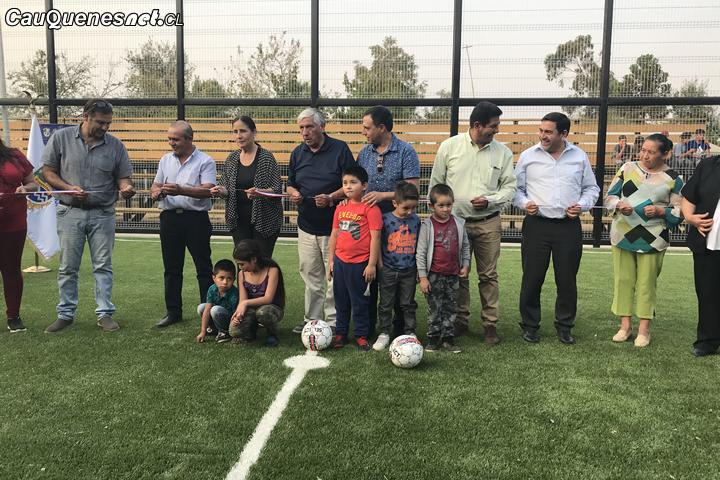 En Cauquenes inauguran el Complejo Deportivo de Pocillas