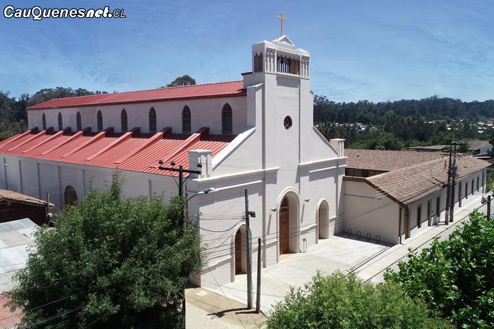 Inauguran nueva Parroquia San Ambrosio de Chanco tras 10 años del terremoto que la destruyó