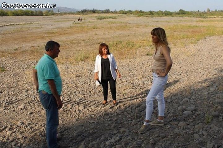 Senadora Rincón llamó a la DGA a suspender remates de aguas en la Región del Maule