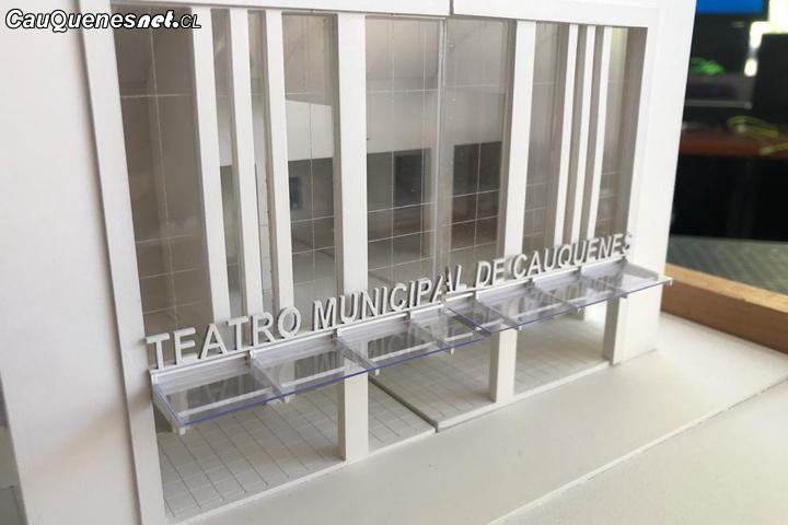 Esperan que durante 2020 se asignen recursos para materializar las mejoras del Teatro Municipal de Cauquenes