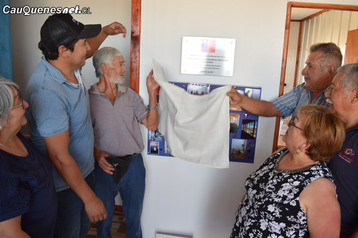 En Cauquenes festejan histórica ampliación y mejoramiento de añosa sede social