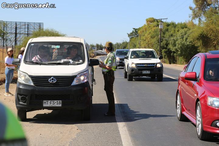 Carabineros y municipio de Cauquenes continúan campaña para prevenir accidentes en verano